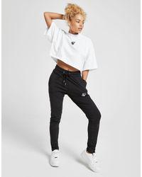 Siksilk White Oversize T-Shirt Damen