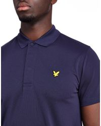 Lyle & Scott | Blue Chambers Polo Shirt for Men | Lyst