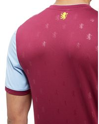Under Armour - Red Aston Villa Home Shirt 2017/18 for Men - Lyst