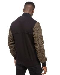 Creative Recreation Black Avica Bomber Jacket for men
