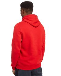 Under Armour - Red Rival Fleece Graphic Hoodie for Men - Lyst