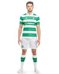 New Balance - Green Celtic Fc 2016/17 Home Socks for Men - Lyst