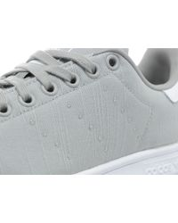 Adidas Originals - Gray Stan Smith Canvas for Men - Lyst