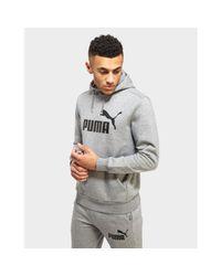 PUMA Gray Core Logo Pants for men