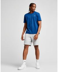 Lacoste Blue Croc Logo Short Sleeve T-shirt for men