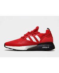 Baskets ZX 2K Boost Homme Adidas Originals pour homme en coloris Red