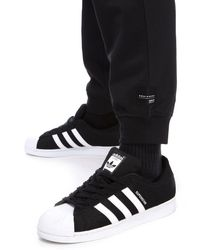 Adidas Originals Black Eqt Joggers for men