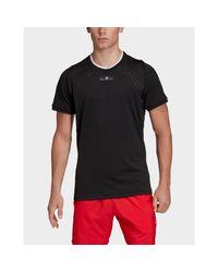 Adidas Originals Black By Stella Mccartney Court T-shirt for men