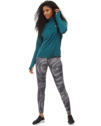 Nike - Gray Running Essential Printed Tights - Lyst