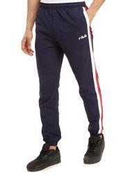 Fila Blue Paterson Woven Pants for men