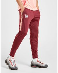 562c17699e01 Nike Fc Barcelona Squad Pants in Red for Men - Lyst