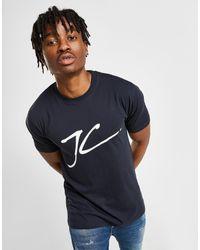 T-Shirt Large Flock Logo Homme Jameson Carter pour homme en coloris Blue
