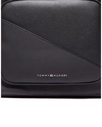 Tommy Hilfiger - Black Diagonal Backpack for Men - Lyst