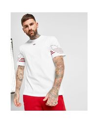 Adidas Originals White Radkin T-shirt for men