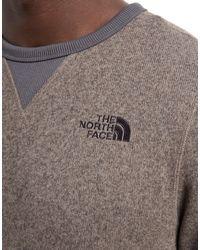 The North Face Gray Mc Street Fleece Pullover for men