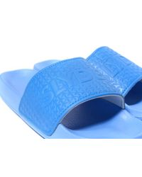 Slydes - Blue Logo Slides for Men - Lyst