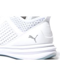 PUMA - White Limitless Knit for Men - Lyst