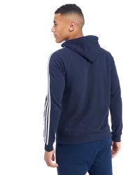 Adidas Originals Blue California Full Zip Hoodie for men