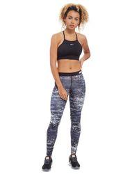 Nike Black Indy Structure Sports Bra