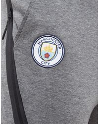 Nike Gray Manchester City Fc Tech Pants for men