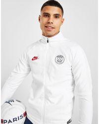 Ensemble de Survêtement Paris Saint Germain Strike Homme Nike pour homme en coloris White