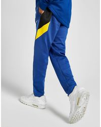 NBA Golden State Warriors Pantaloni Sportivi di Nike in Blue da Uomo