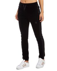 Adidas Originals Black Velvet Vibes Sst Track Pants
