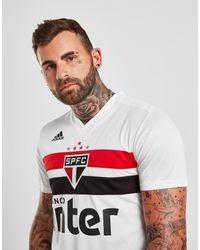 Camiseta Sao Paulo 2019/20 1.a equipación Adidas de hombre de color White