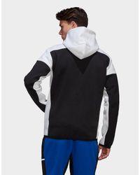 Adidas Black Z.n.e. Full-zip Hoodie for men