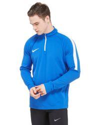 Nike Blue Academy 17 Longsleeve Top for men