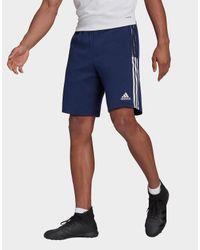 Adidas Blue Tiro 21 Sweat Shorts for men