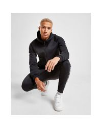 Nike Black Tech Winter Full Zip Hoodie for men