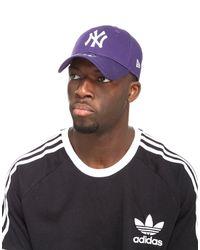KTZ Purple Mlb New York Yankees 9forty Cap for men