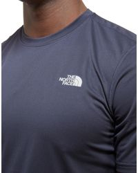 The North Face - Blue Flex T-shirt for Men - Lyst