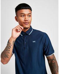 Polo Golf Under Armour de hombre de color Blue