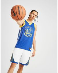 NBA Golden State Warriors Swingman Curry 30 Maglia di Nike in Blue da Uomo