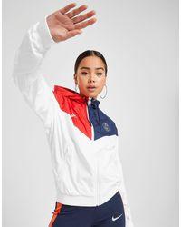 Nike Multicolor Paris Saint Germain Windjacke Damen