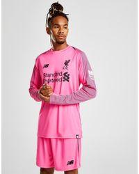 quality design 1a175 f1c28 Men's Pink Liverpool Fc 2018/19 Third Goalkeeper Shirt