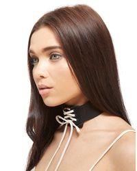 PUMA - Black X Fenty Lace Choker - Lyst