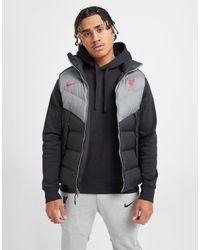Nike Gray Liverpool Fc Windrunner Vest for men
