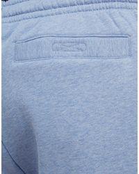 Lacoste - Blue Premium Fleece Shorts for Men - Lyst