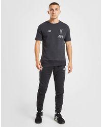 New Balance Liverpool FC Slim Trainingshose Herren in Black für Herren