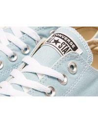 Converse Blue Chuck Taylor(r) All Star(r) Ox - Perf Stars (ocean Bliss/garnet/athletic Navy) Classic Shoes