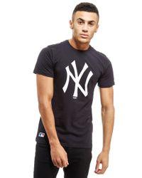 KTZ   Black Ny Yankees T-shirt for Men   Lyst