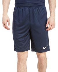 Nike Blue Academy 17 Shorts for men
