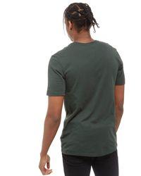 Nike - Green Futura Outline T-shirt for Men - Lyst