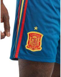 Adidas Blue Spain 2017/18 Home Shorts Pre Order for men