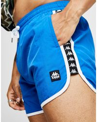 Kappa - Blue Aguis Swim Shorts for Men - Lyst