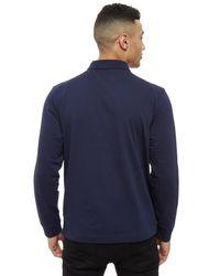 Lacoste - Blue Alligator Long Sleeve Polo Shirt for Men - Lyst
