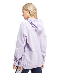 Ellesse - Purple Half Zip Jacket - Lyst